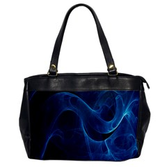 Smoke White Blue Office Handbags by Mariart