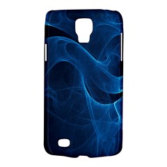 Smoke White Blue Galaxy S4 Active by Mariart