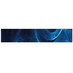 Smoke White Blue Flano Scarf (large) by Mariart