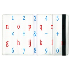 Source Serif Number Apple Ipad 3/4 Flip Case by Mariart