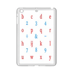 Source Serif Number Ipad Mini 2 Enamel Coated Cases by Mariart