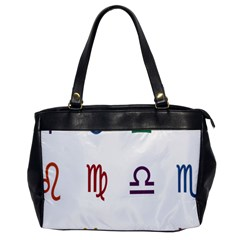 Twelve Signs Zodiac Color Star Office Handbags by Mariart