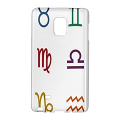 Twelve Signs Zodiac Color Star Galaxy Note Edge by Mariart