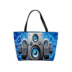 Sound System Music Disco Party Shoulder Handbags by Mariart