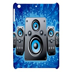 Sound System Music Disco Party Apple Ipad Mini Hardshell Case by Mariart
