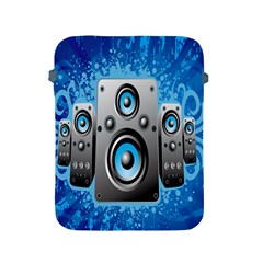 Sound System Music Disco Party Apple Ipad 2/3/4 Protective Soft Cases by Mariart