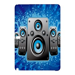 Sound System Music Disco Party Samsung Galaxy Tab Pro 12 2 Hardshell Case by Mariart