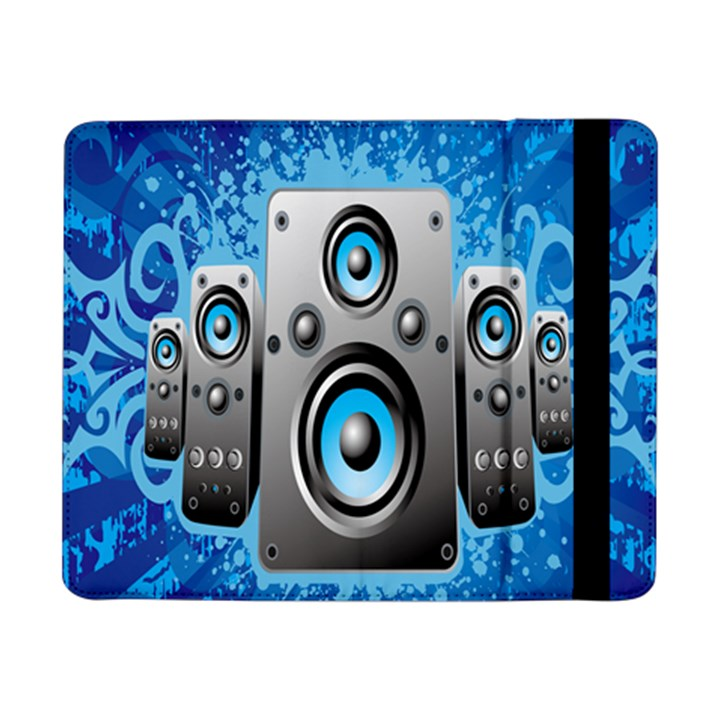 Sound System Music Disco Party Samsung Galaxy Tab Pro 8.4  Flip Case