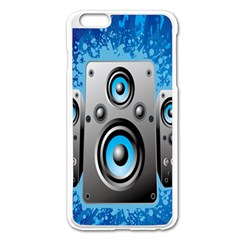Sound System Music Disco Party Apple Iphone 6 Plus/6s Plus Enamel White Case by Mariart