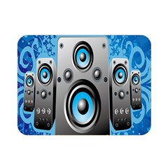 Sound System Music Disco Party Double Sided Flano Blanket (mini)  by Mariart