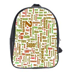Screen Source Serif Text School Bags(large)