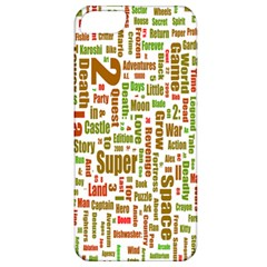 Screen Source Serif Text Apple Iphone 5 Classic Hardshell Case by Mariart