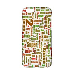 Screen Source Serif Text Apple Iphone 6/6s Hardshell Case by Mariart