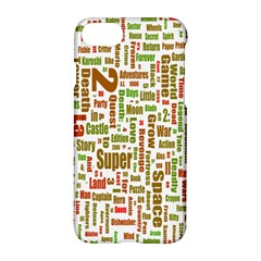Screen Source Serif Text Apple Iphone 7 Hardshell Case by Mariart
