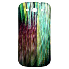 Screen Shot Line Vertical Rainbow Samsung Galaxy S3 S Iii Classic Hardshell Back Case by Mariart