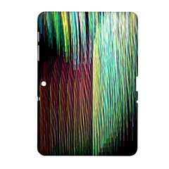 Screen Shot Line Vertical Rainbow Samsung Galaxy Tab 2 (10 1 ) P5100 Hardshell Case  by Mariart