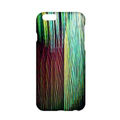 Screen Shot Line Vertical Rainbow Apple Iphone 6/6s Hardshell Case by Mariart