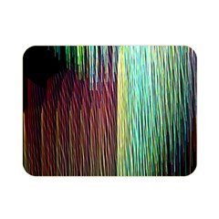 Screen Shot Line Vertical Rainbow Double Sided Flano Blanket (mini)