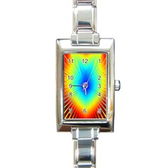 View Max Gain Resize Flower Floral Light Line Chevron Rectangle Italian Charm Watch by Mariart
