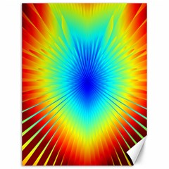 View Max Gain Resize Flower Floral Light Line Chevron Canvas 12  X 16   by Mariart