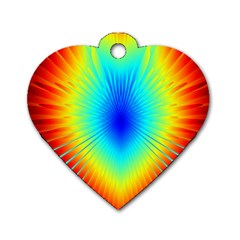 View Max Gain Resize Flower Floral Light Line Chevron Dog Tag Heart (two Sides) by Mariart