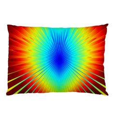 View Max Gain Resize Flower Floral Light Line Chevron Pillow Case (two Sides) by Mariart