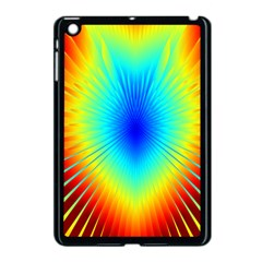 View Max Gain Resize Flower Floral Light Line Chevron Apple Ipad Mini Case (black) by Mariart
