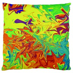 Colors Standard Flano Cushion Case (one Side) by Valentinaart