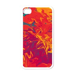 Colors Apple Iphone 4 Case (white) by Valentinaart