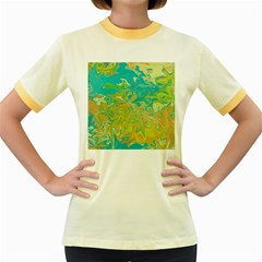 Colors Women s Fitted Ringer T Shirts