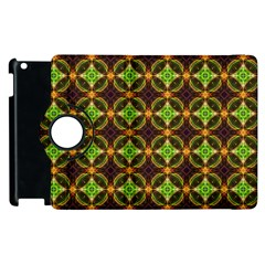 Kiwi Like Pattern Apple Ipad 3/4 Flip 360 Case by linceazul