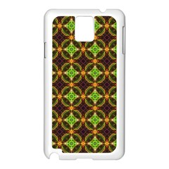 Kiwi Like Pattern Samsung Galaxy Note 3 N9005 Case (white) by linceazul