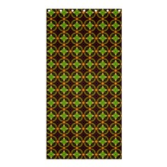 Kiwi Like Pattern Shower Curtain 36  X 72  (stall)  by linceazul