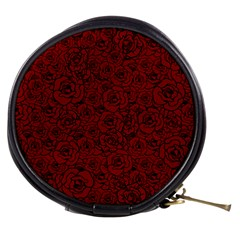 Red Roses Field Mini Makeup Bags by designworld65