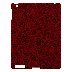Red Roses Field Apple Ipad 3/4 Hardshell Case by designworld65