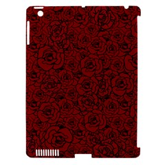 Red Roses Field Apple Ipad 3/4 Hardshell Case (compatible With Smart Cover)