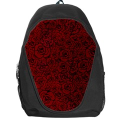 Red Roses Field Backpack Bag by designworld65