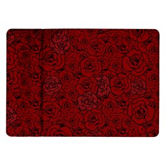 Red Roses Field Samsung Galaxy Tab 10 1  P7500 Flip Case by designworld65