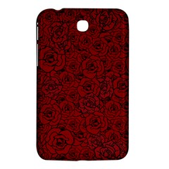 Red Roses Field Samsung Galaxy Tab 3 (7 ) P3200 Hardshell Case  by designworld65