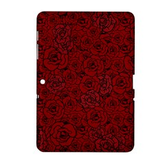 Red Roses Field Samsung Galaxy Tab 2 (10 1 ) P5100 Hardshell Case  by designworld65