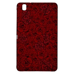Red Roses Field Samsung Galaxy Tab Pro 8 4 Hardshell Case by designworld65