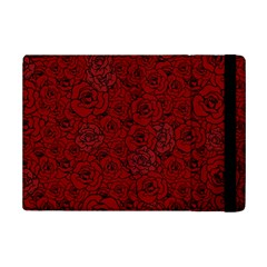 Red Roses Field Ipad Mini 2 Flip Cases by designworld65