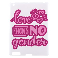 Love Knows No Gender Apple Ipad 3/4 Hardshell Case by Valentinaart