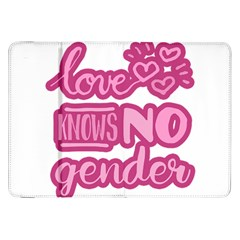 Love Knows No Gender Samsung Galaxy Tab 8 9  P7300 Flip Case by Valentinaart