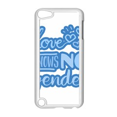 Love Knows No Gender Apple Ipod Touch 5 Case (white) by Valentinaart