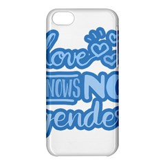 Love Knows No Gender Apple Iphone 5c Hardshell Case by Valentinaart