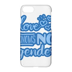 Love Knows No Gender Apple Iphone 7 Hardshell Case