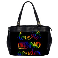 Love Knows No Gender Office Handbags