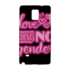 Love Knows No Gender Samsung Galaxy Note 4 Hardshell Case