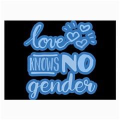 Love Knows No Gender Large Glasses Cloth (2 Side)